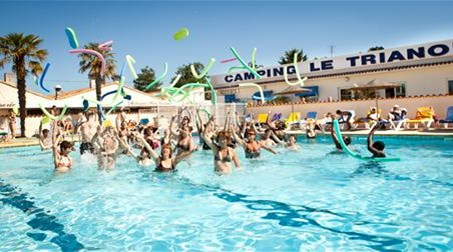 Aquagym au Camping Club, Le Trianon ****
