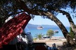 Camp Lupis - view from first terrace number 2 - SPECIAL PRICE FOR ALL PITCHES: 16 € for 2 people till 30.06. and from 01.09.
