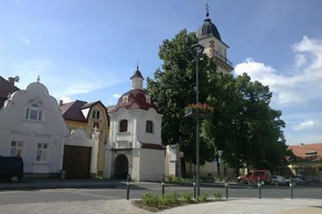 City of Bojnice - Saint Martins Church