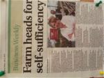 news article about upper hurst farm
