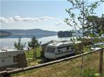 Part of the campground with Lake Batak july 2013