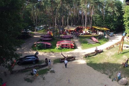 Der Campingplatz Kanustation Mirow am Mirower See