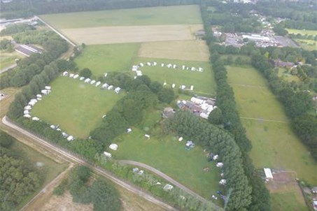 2 camping fields, plenty of space