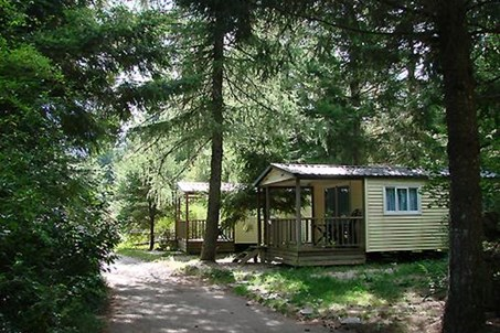 camping terondel  cevennes mobile-homes