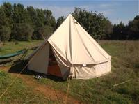 Hired tent