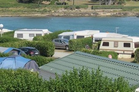 Camping du port Landrellec