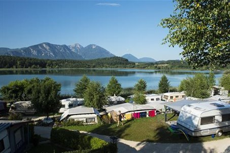Terrassencamping, direkt am Turnersee