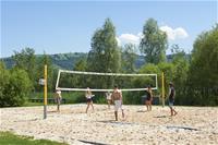 Beachvolley am Platz