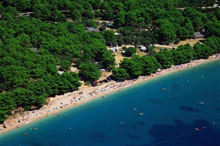 © Camping Dole -  www.hotelizivogosce.com - aerial view, camping Dole