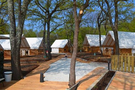 Glamping rooms
