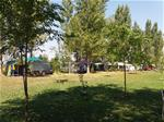 Central area of campsite..