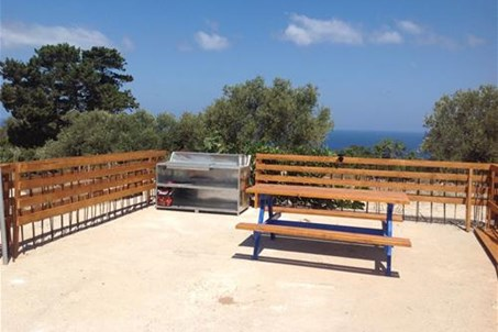 BBQ and seating