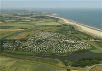 Luchtfoto Strandcamping Groede