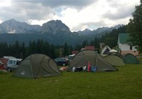 View from the camping area.