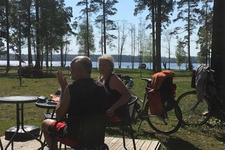 "Perfect for cycling. Many nice bike rides for all tastes and fitness levels. Just with the cycle trail ""Banvallsleden"" and ""Sydostleden"""