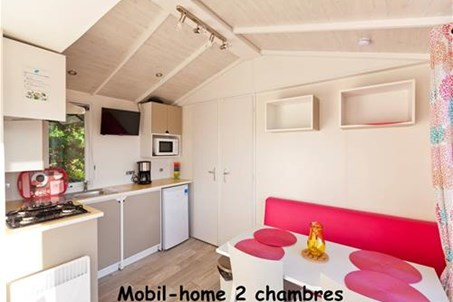 Mobil-home 2 chambres.
