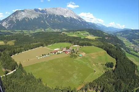 Panorama in Schladming Dachstein