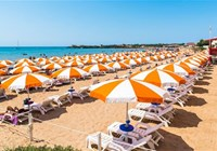 La spiaggia privata The private beach