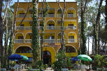 "Front view. Hotel Camping ""Mali i Robit"" (Renovation 2019)"