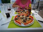 Restaurant mit super Pizza