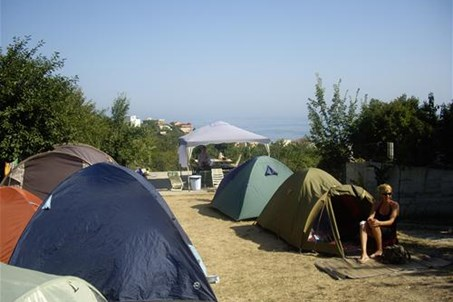 General view of the camping.