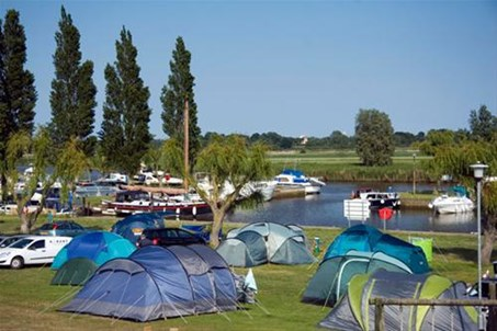 Camping at Waveney River Centre