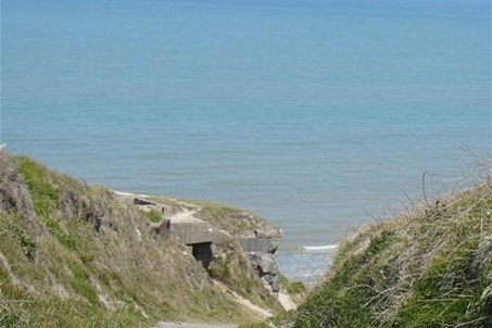 acces direct a la plage d omaha beach
