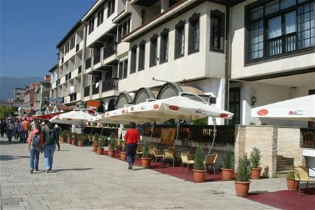 City center of Struga - Macedonia