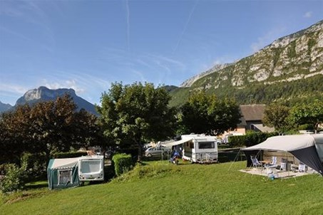 Vue camping le Taillefer