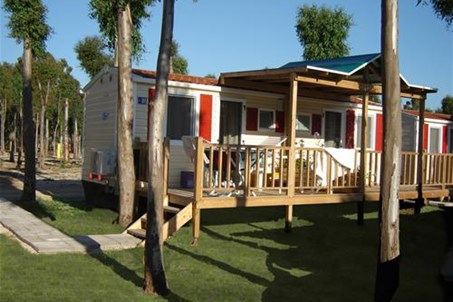 Mobile houses in the Camping Villages