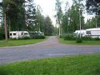 Our caravan area.  © Homepage www.nyyssanniemi.fi