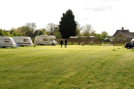 Camping pitches at standen lodge mablethorpe
