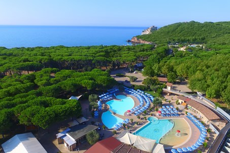 Camping Village Baia Azzurra Club  Panoramic.