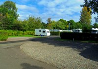 Edinburgh Caravan Club Site
