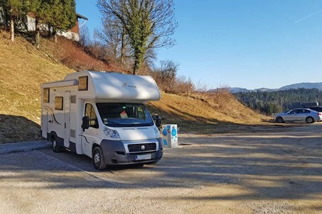 Camper stop Golte